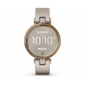 Garmin Lily Rose Gold/Light Sand, Silicone
