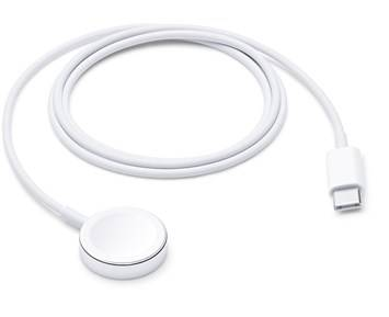Apple Magnetic Charger to USB-C Cable for Apple Watch 1m