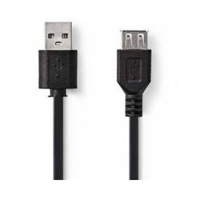 Sony Ericsson Nedis Förlängningskabel USB 2.0- 2 m svart