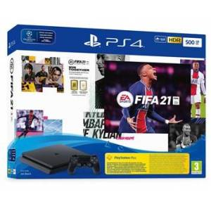 Sony PlayStation 4 500gb Black + Fifa 21