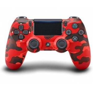 Sony PS4 DualShock 4 v2 - Red Camouflage