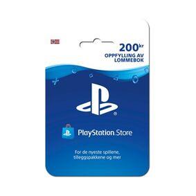 Sony Ericsson PS4 Live Card 200 NOK