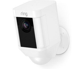 Sony Ericsson Ring Spotlight Cam Battery White