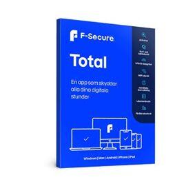 F-Secure TOTAL (1 år 5 enheter)