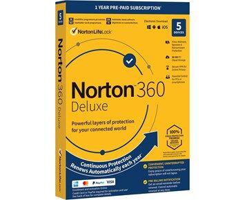 Symantec Norton  360 Security Deluxe