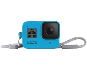 Sony Ericsson GoPro Sleeve + Lanyard (HERO8 Blue)