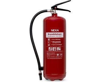 Nexa Brannslukningsapparat Rød 6kg
