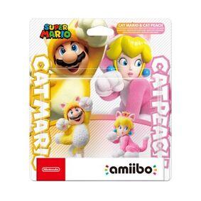 Nintendo amiibo CAT MARIO & CAT PEACH 2-p (Super Mario Collection)