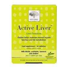 New Nordic Active Liver 60 tabletter