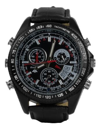 Technaxx TEC-4716 Technaxx Video Watch with FullHD Camera TX-93, 1920x1080, black
