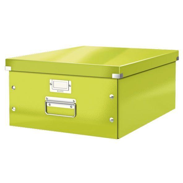 Leitz 60450064 Leitz Arkivboks Click &Store WOW L grønn