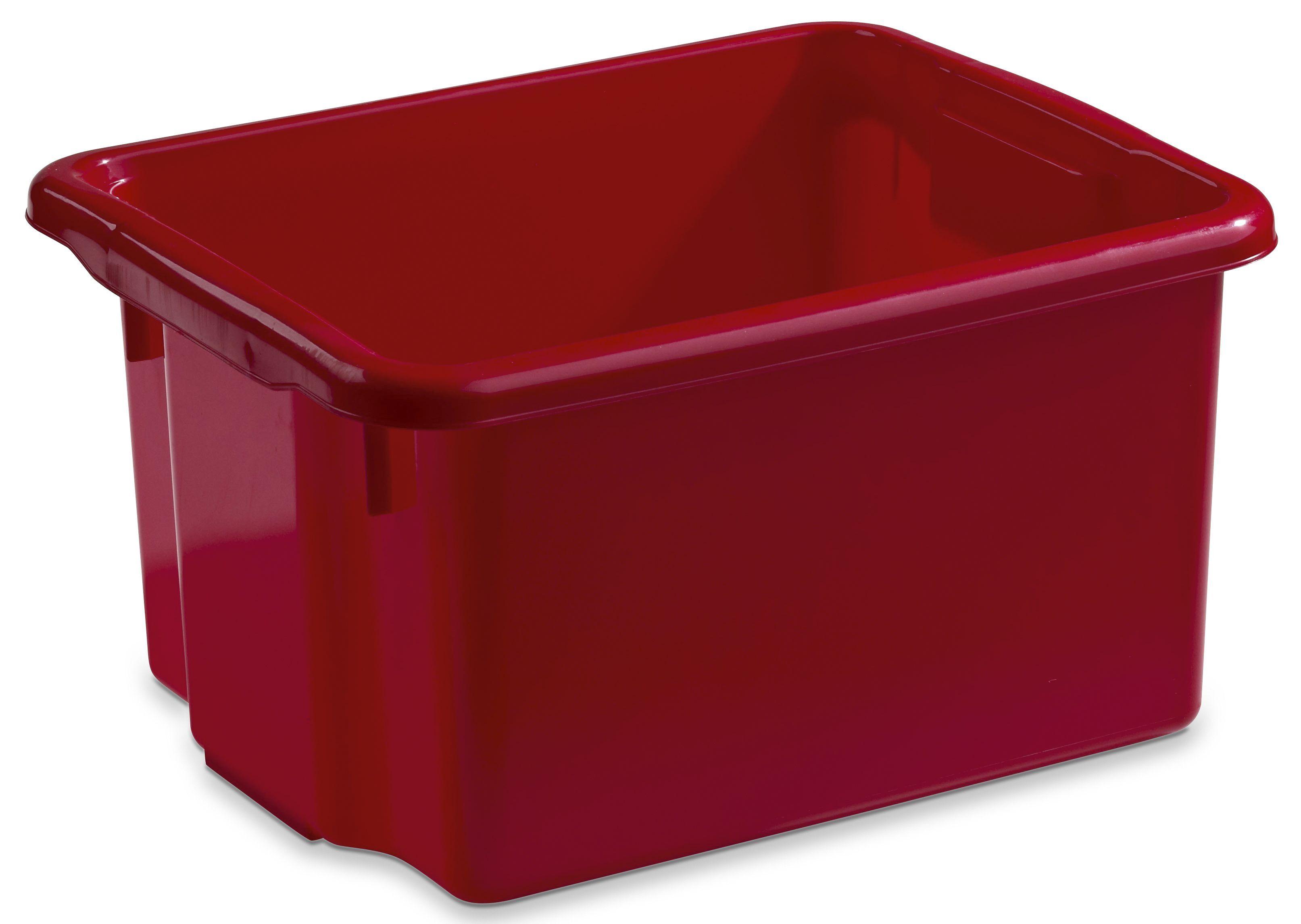 Nordiska 7150-0300 Nordiska Oppbevaringsboks PLAST 15L rød