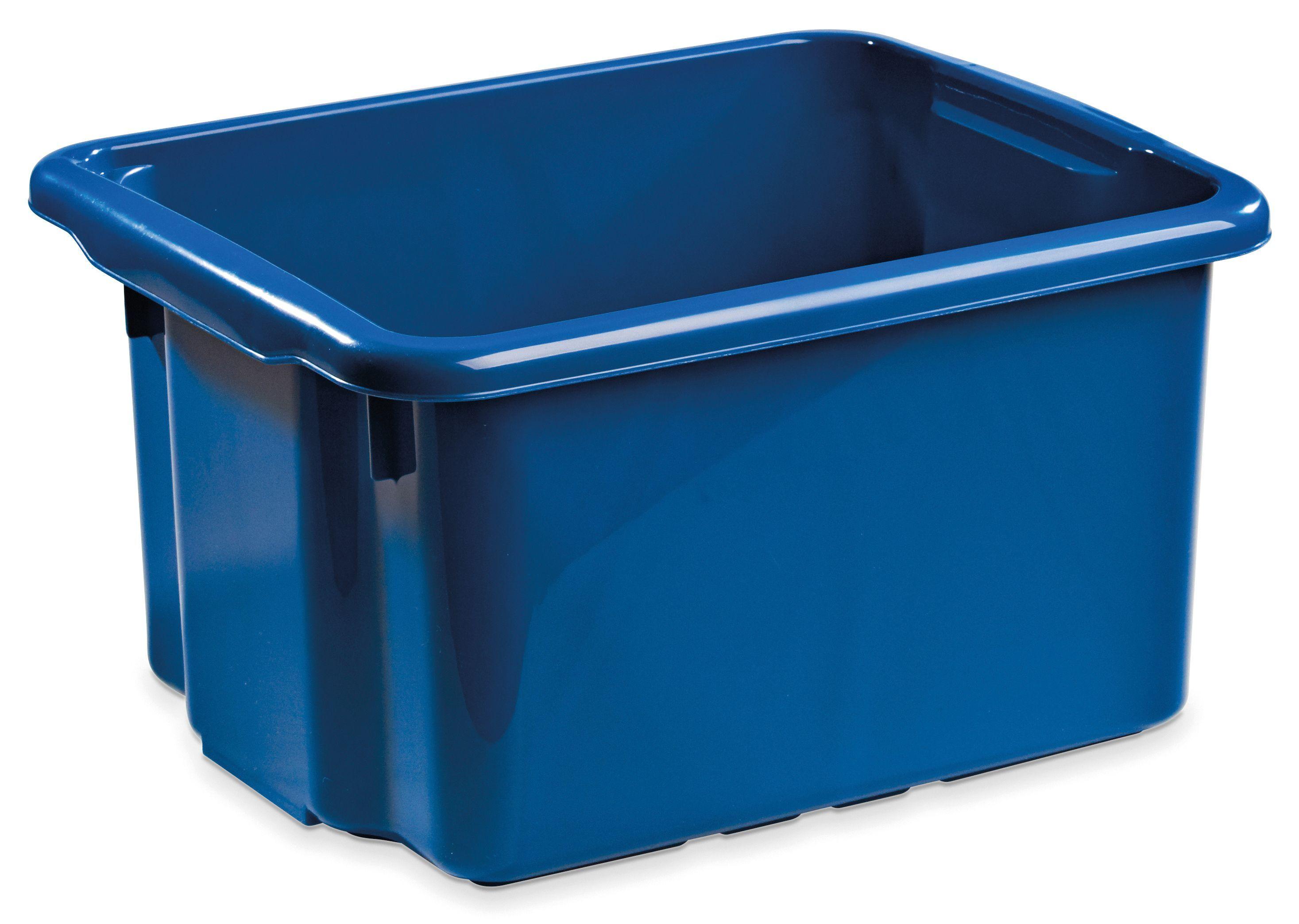 Oppbevaringsboks 7150-0600 Oppbevaringsboks NORDISKA PLAST 15L blå
