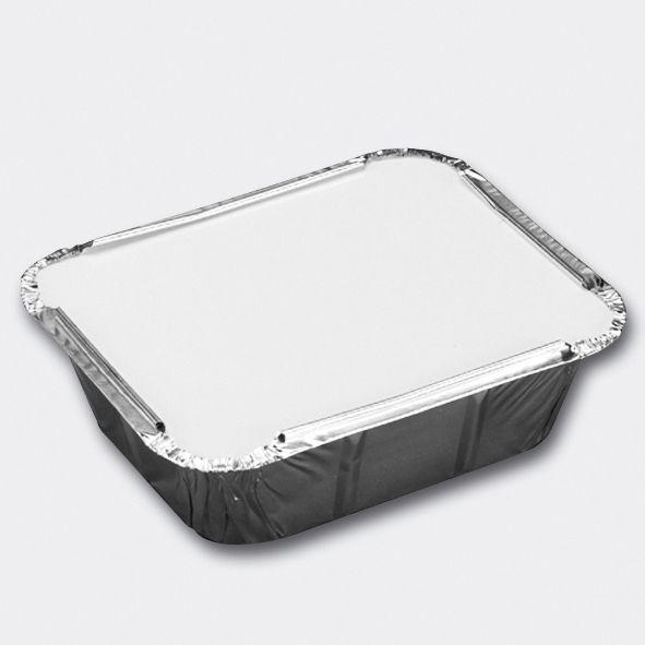 Aluminiumsform 834267910 Aluminiumsform m/lokk rekt 450ml (50)