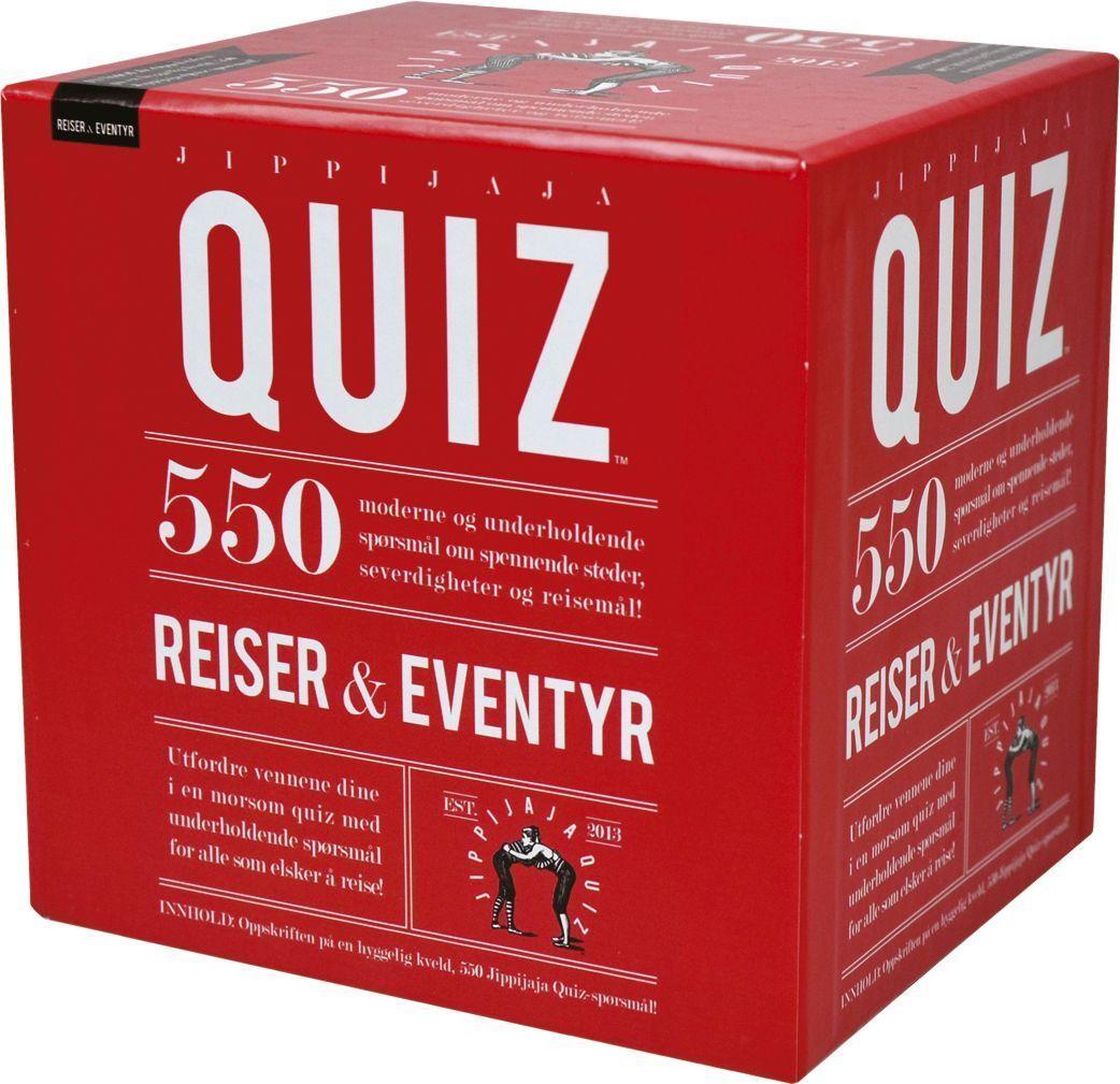 "Spill 210033 Spill ""Jippijaja Quiz Reiser & Eventyr"""