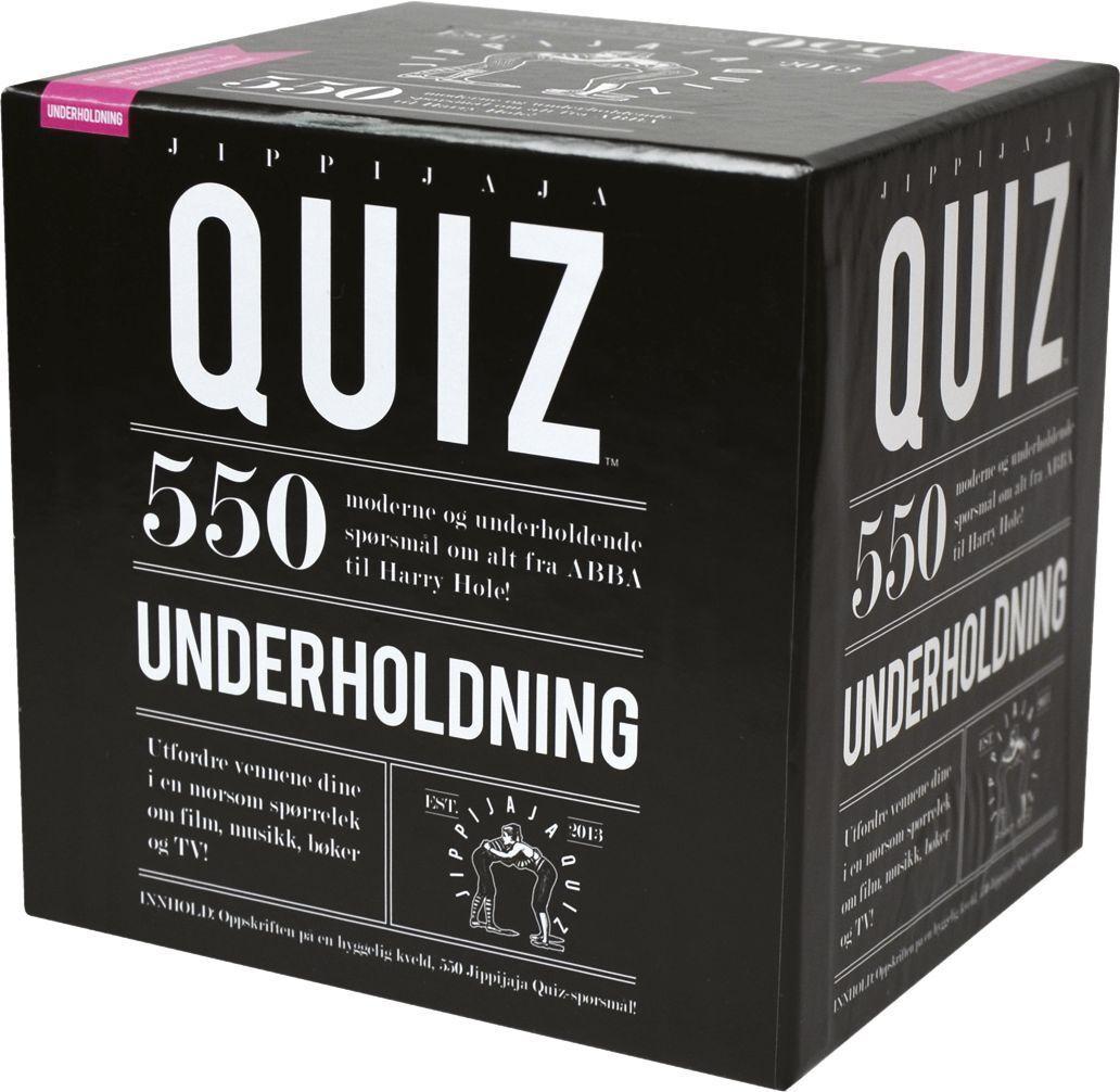 """Spill 210040 Spill """"Jippijaja Quiz Underholdning"""""""