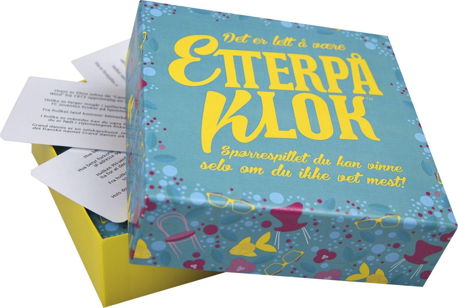 Kylskåpspoesi 2200218 Kylskåpspoesi Spill Etterpåklok (Kan sendes i brev)