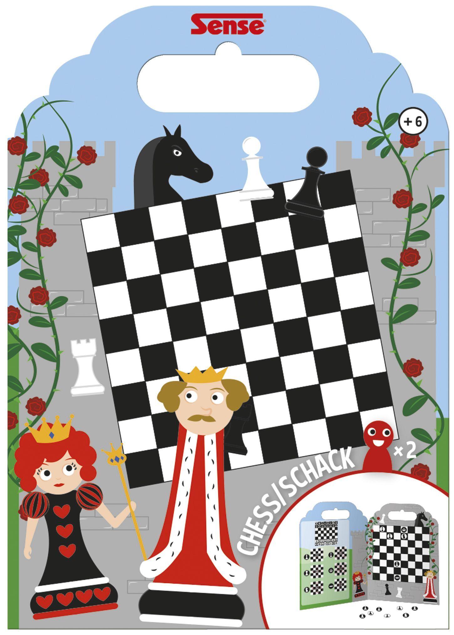 Sense 54073 Sense Reisespill sjakk