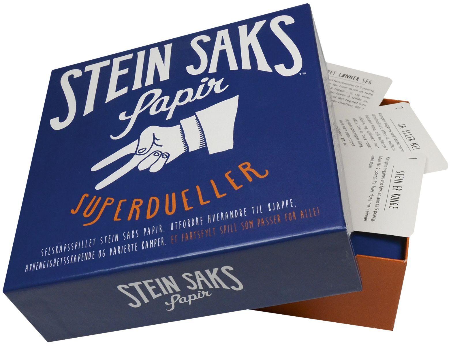 """Spill 200256 Spill """"Stein, Saks, Papir"""" (Kan sendes i brev)"""