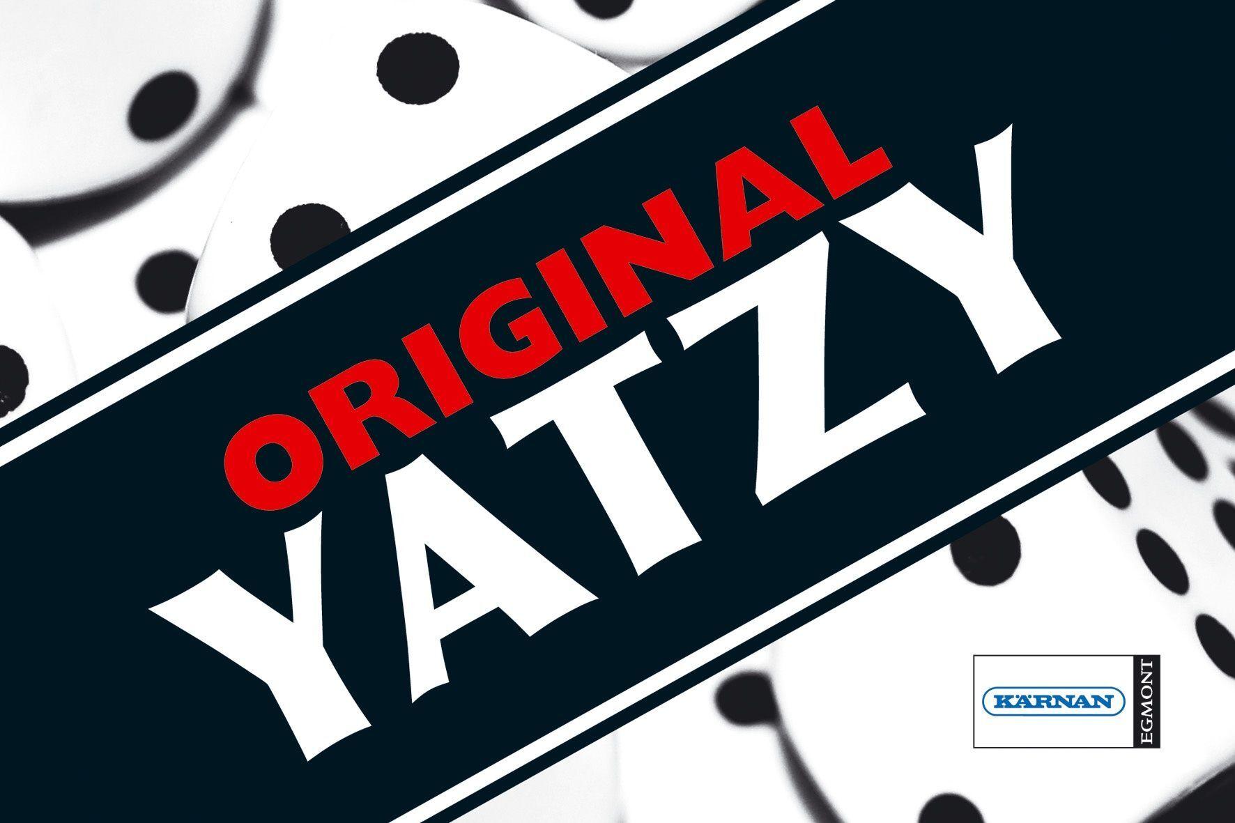 Spill 610070 Spill Yatzy (Kan sendes i brev)