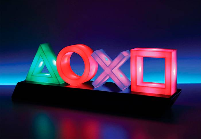 PlayStation Lampe Icons 30cm