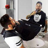 Beard Shaving Buddy Apron Si farvel til skjeggrester i vasken