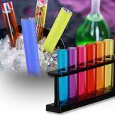Test Tube Shot Glass - 6 stk Shotteglass formet som reagensrør