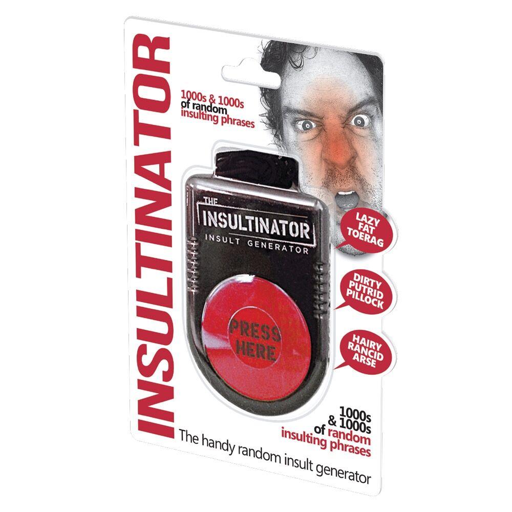 Insultinator - Insult Generator Endelig kan frustrasjonen få fritt utløp