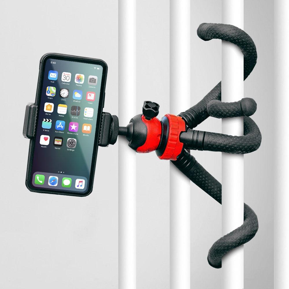 Octopus Tripod Holder til mobil og kamera