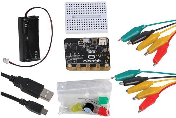 Pro-Ject BBC micro:bit Project Kit Startpakke 6 prosjekter - Komplett microbit pakke