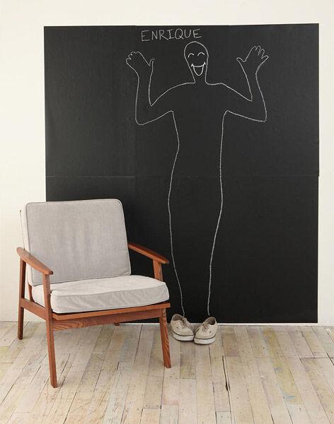 Kritttavle 2 meter høy x 45 cm Veggdekor Selvklebende vinyltavle