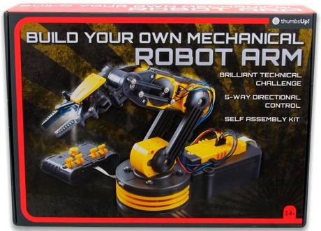 Build Your Own Mechanical Robot Arm Bygg din egen mekaniske robotarm