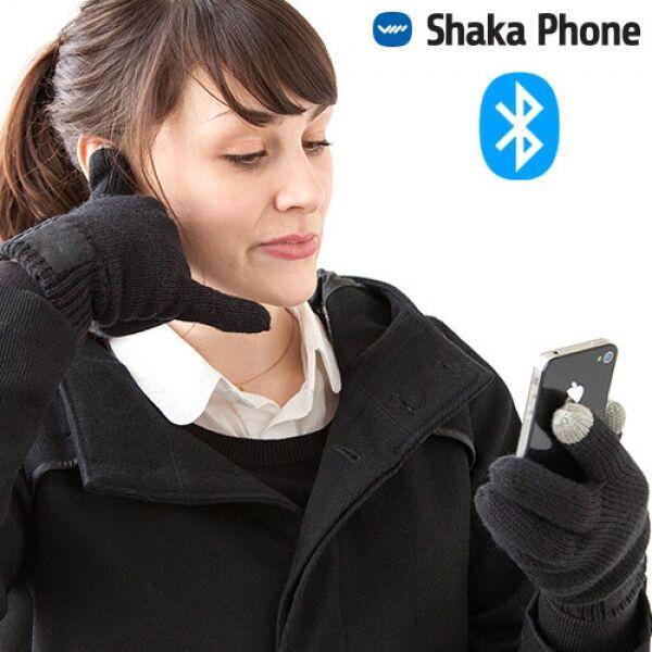 Bluetooth hansker med Mic og Høytaler Høytaler i tommel og mic i lillefinger