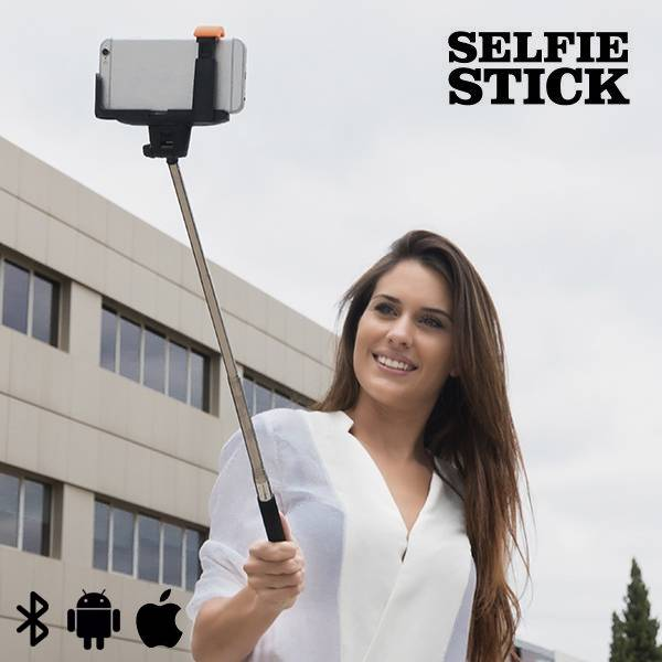 Selfie Stang Uttrekkbar Bluetooth Forlenges fra 22 - 100cm!