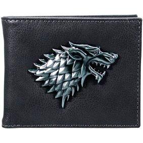 Game of Thrones Stark Lommebok PU Lær PU Lær og STARK Symbol i metall