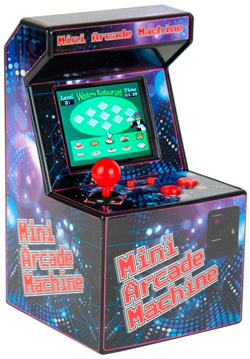 """Mini Arcade Machine 2,5""""skjerm 240spill 240 innebyggde spill"""