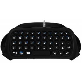 Wireless Keypad/Keyboard Tastatur PS4 Trådløst tastaur til din PS4 kontroller!