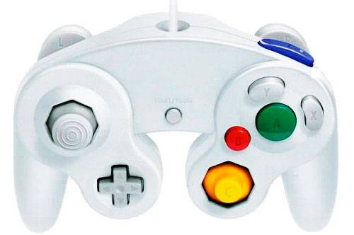 Nintendo Gamecube Håndkontroll Controller GC/Wii Passer også til gamecube spill på Wii!