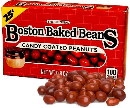 Boston Baked Beans Peanuts - 23g Candy Coated Peanuts