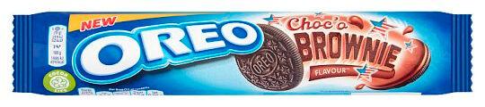 Oreo Chocolate Brownie Kjeks - 154g