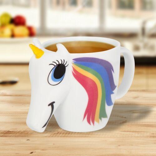 Kopp Unicorn Enhjørning 3dl Skifter farge med varm drikke