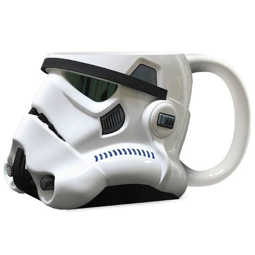 Star Wars Stor Kopp Stormtrooper 3D Keramikk Kaffikopp for Star Wars Fans