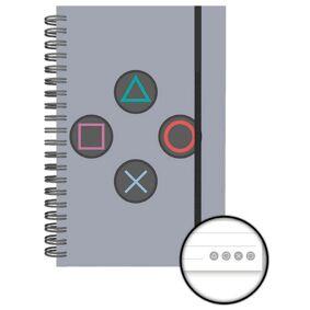PlayStation Notatbok A5 Buttons