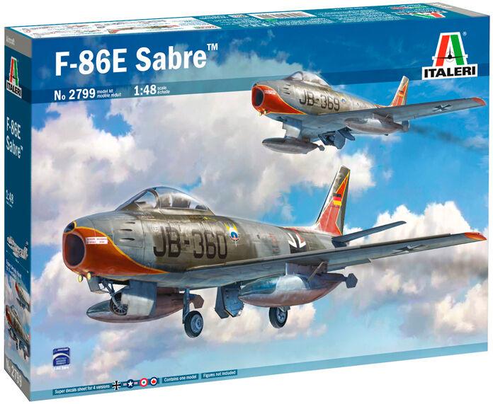 F-86E Sabre Italeri 1:48 Byggesett