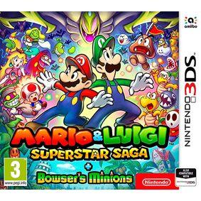Mario and Luigi Superstar Saga 3DS Plus Bowsers Minions