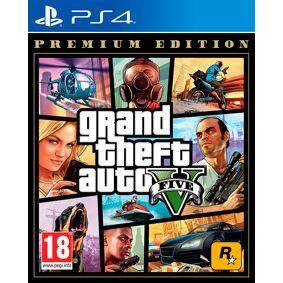 Rockstar Grand Theft Auto 5 Premium Edition PS4 GTA 5/GTA V med GTA Online innhold