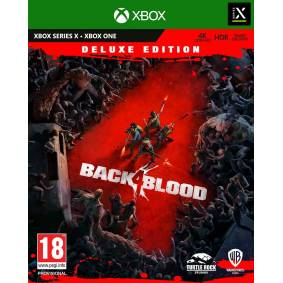 Warner Bros. Interactive Entertainment Back 4 Blood Deluxe Edition Xbox 4 dager Early Access + DLC innhold