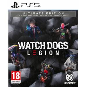 UbiSoft Watch Dogs Legion Ultimate Edition PS5 Season Pass, Ultimate Pack ++