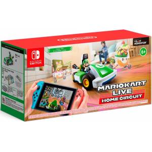 Nintendo Mario Kart Live Home Circuit Luigi Set For Nintendo Switch