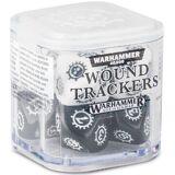 Wound Trackers Svart/Hvit Age of Sigmar Warhammer 40K